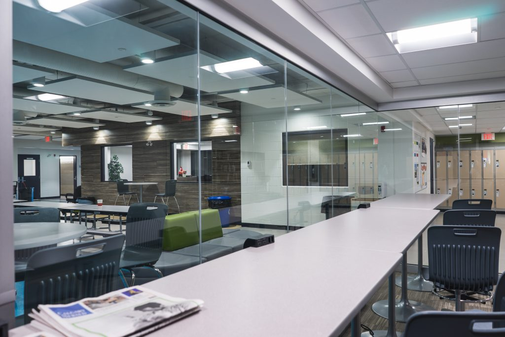 <h3>Prairie Christian Academy</h3> <p>This project consisted of a modernization and addition to the existing K-12 school in Three Hills, AB. The entire school was renovated during this project, including a new gymnasium, theatre/music room, floor-to-ceiling glass wall library, and a Skyfold wall in the music room. Westcor employed local skilled labour for the duration of the project (a norm for all our projects outside of Calgary), and worked closely with the Golden Hills School District to ensure success.</p>